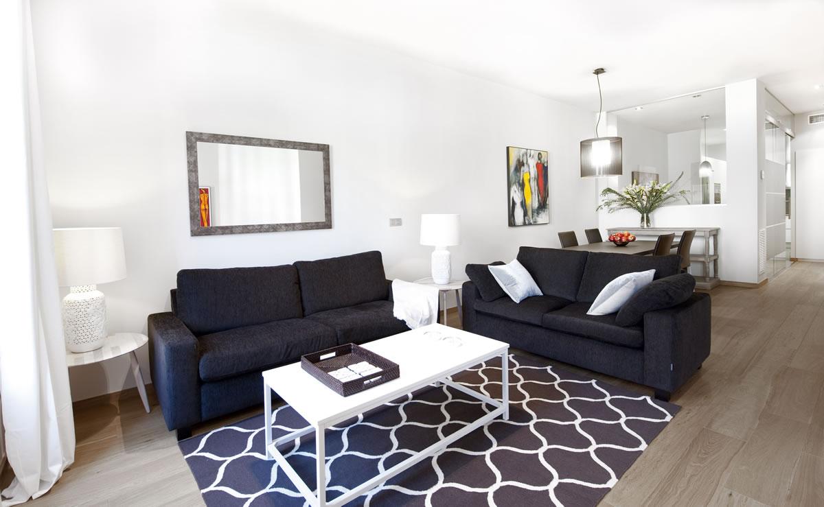 Salón Apartamento Rambla Catalunya Suite Luxury