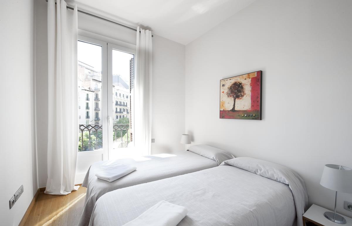 Спальня - Rambla Catalunya Suites-Elegant