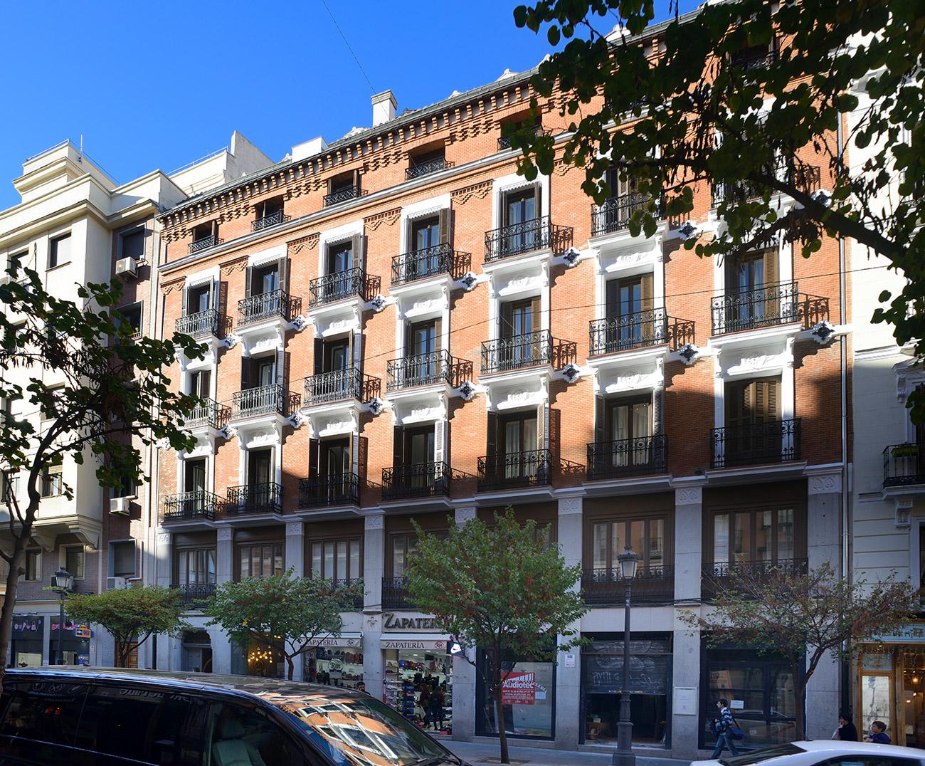 Vistas desde el apartamento Habitaciones Calle Mayor Apartments