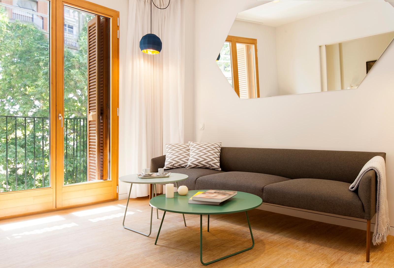 Living Room - Garden Apartments