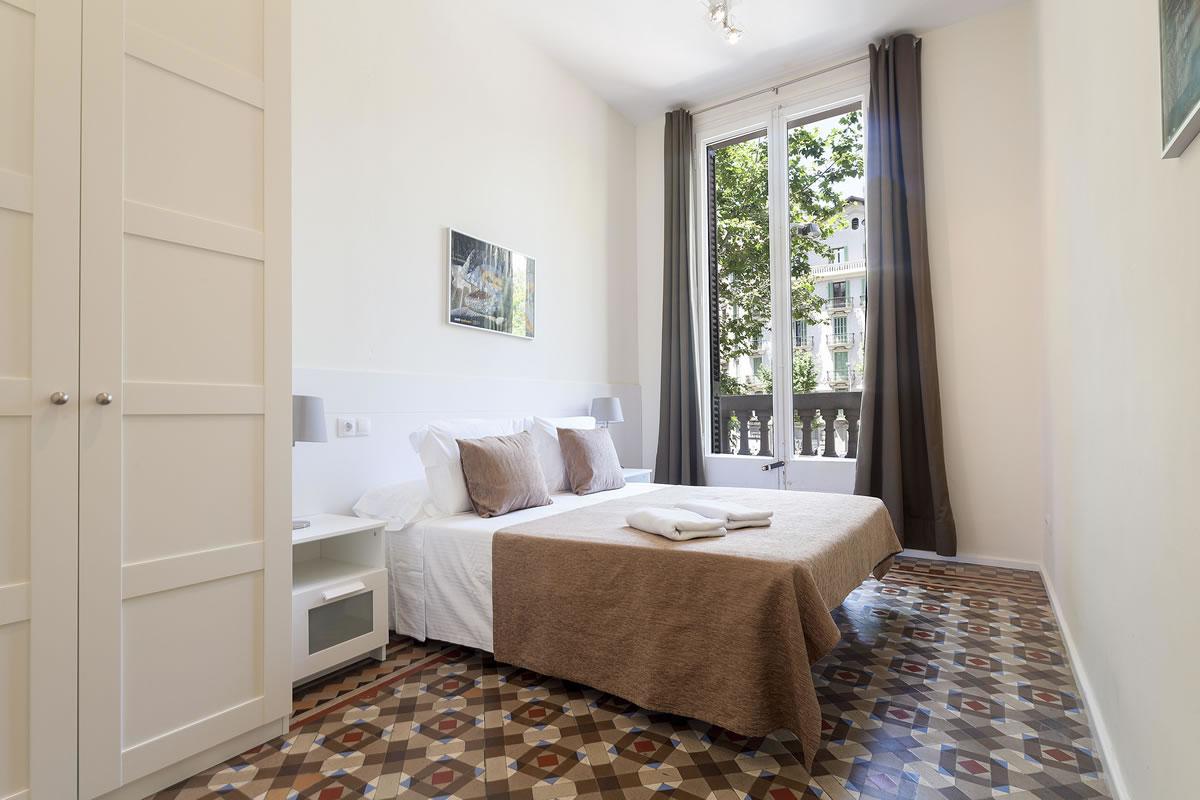 Спальня - Rambla Catalunya Suites-Design