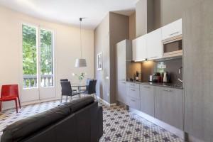 Salón Habitación Rambla Catalunya Suites Design