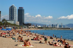 Barceloneta Beachside Neighbourhood in Barcelona