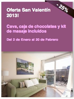 Oferta San Valentín 2013