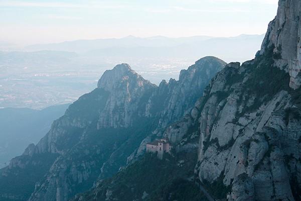 Santa Cova on Montserrat by Daniel Ruiz