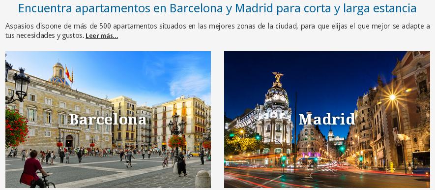 Aspasios alojamiento en barcelona y madrid Alojamiento barcelona