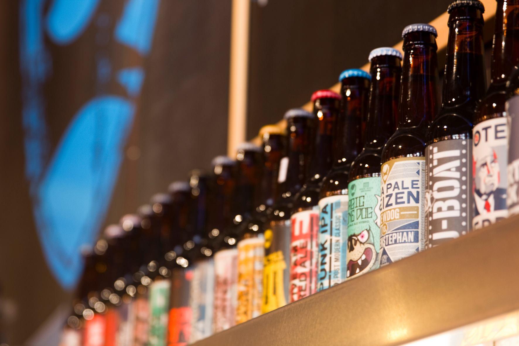 craft beer bar in Barcelona