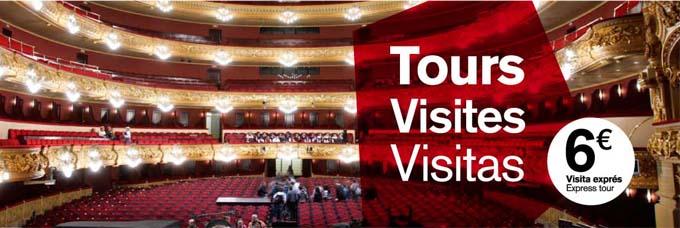 Book a tour through Liceu theatre