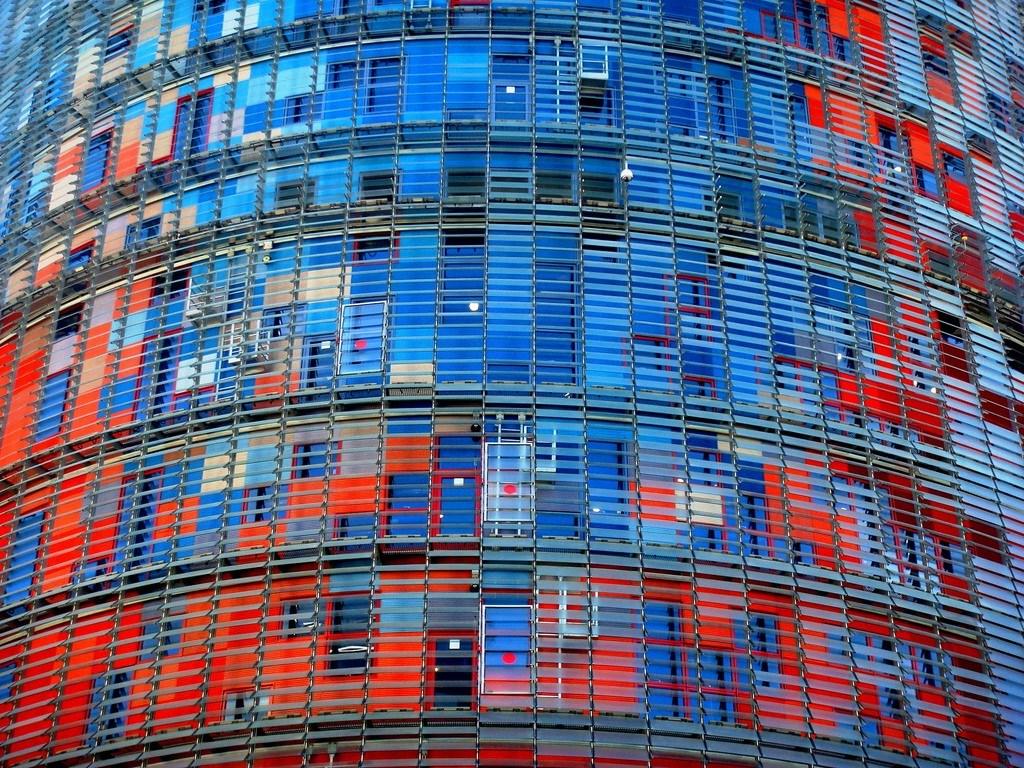 Torre Agbar Detalle-min
