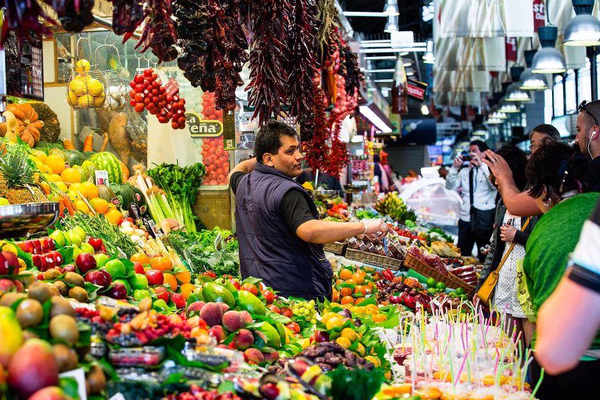 Mercados Barcelona