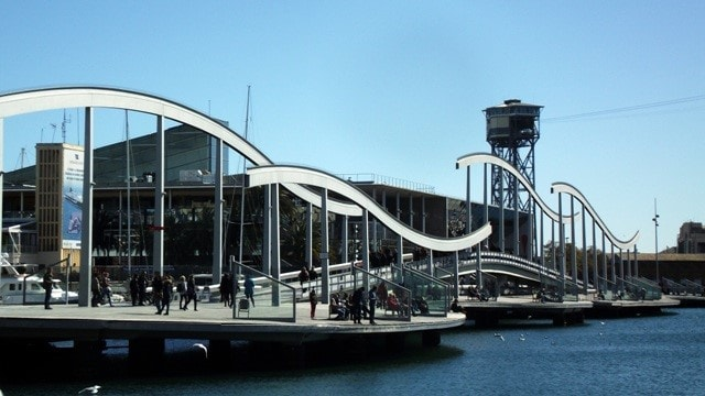 port vell Barcelona-min