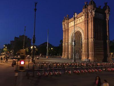 Arco de Triunfo en Barcelona