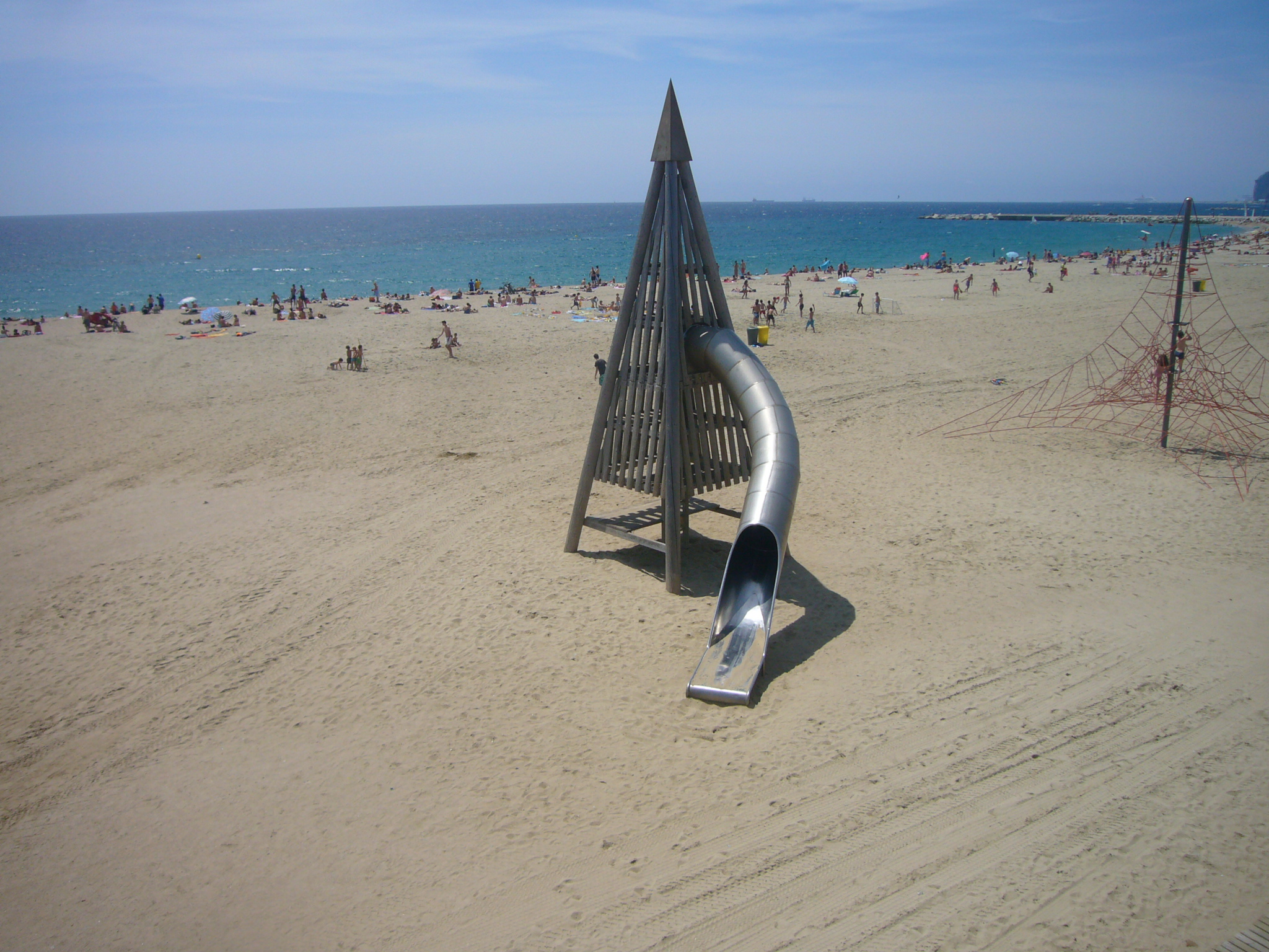 Playa Mar Bella en Barcelona