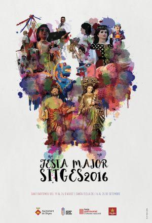 Fiesta Mayor en Sitges