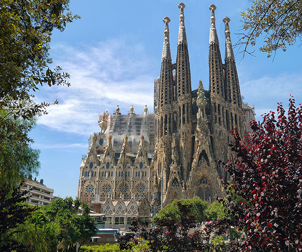 Sagrada Familia in Barcelona, Blog Aspasios
