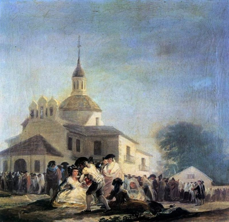 The Chapel of San Isidro by Goya