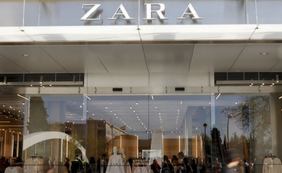 Zara on Paseo de la Castellana