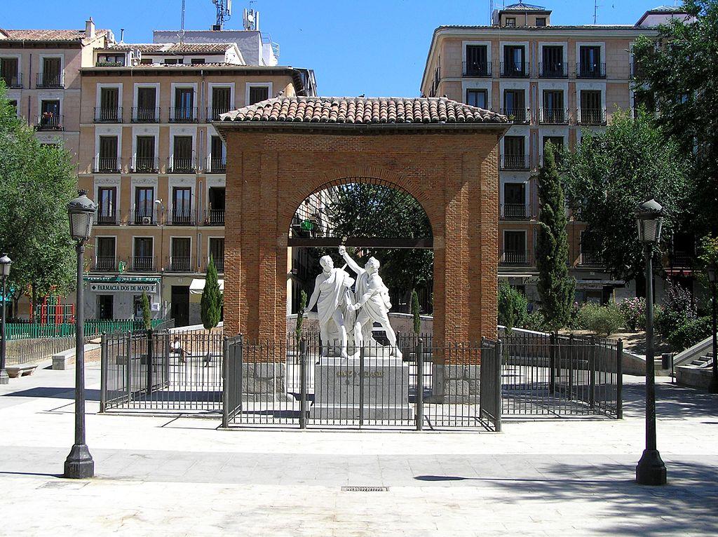 Plaza del 2 de Mayo en Malasaña