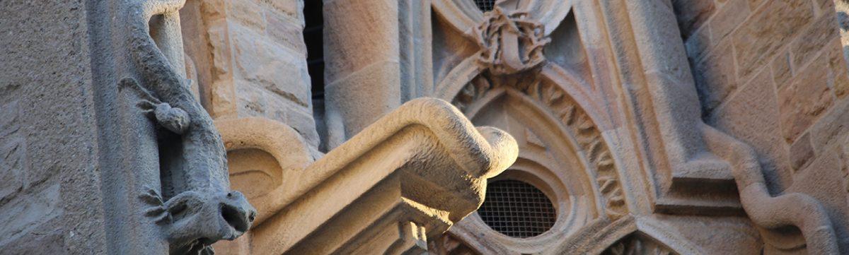 Fachada Sagrada Familia