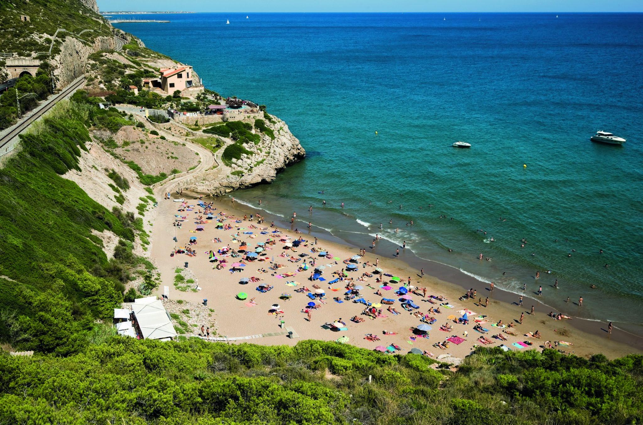 Cala Morisca - Playas cerca de Barcelona