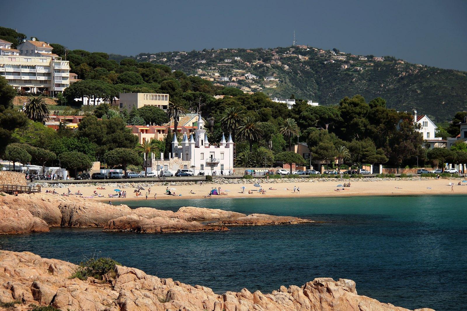 Playa de Sant Pol - Playas cerca de Barcelona